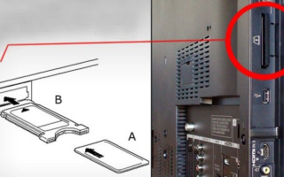 Для чего нужен в телевизоре pcmcia card slot