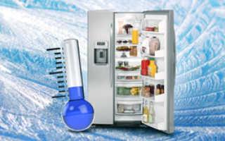 В холодильник в котором поддерживается температура 0 градусов