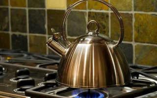 Как подобрать чайник для газовой плиты
