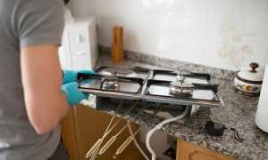 Как встроить обычную газовую плиту в столешницу